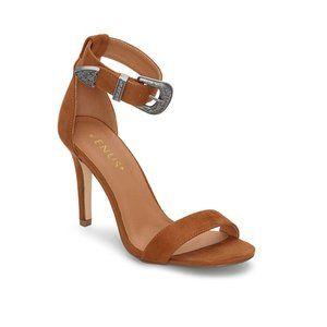 NIB Venus Buckle Detail Ankle Strap Heeled Sandals